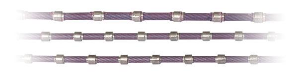 大理石异形切割串珠绳